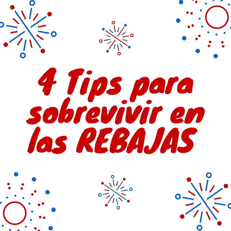4 consejos rebajas