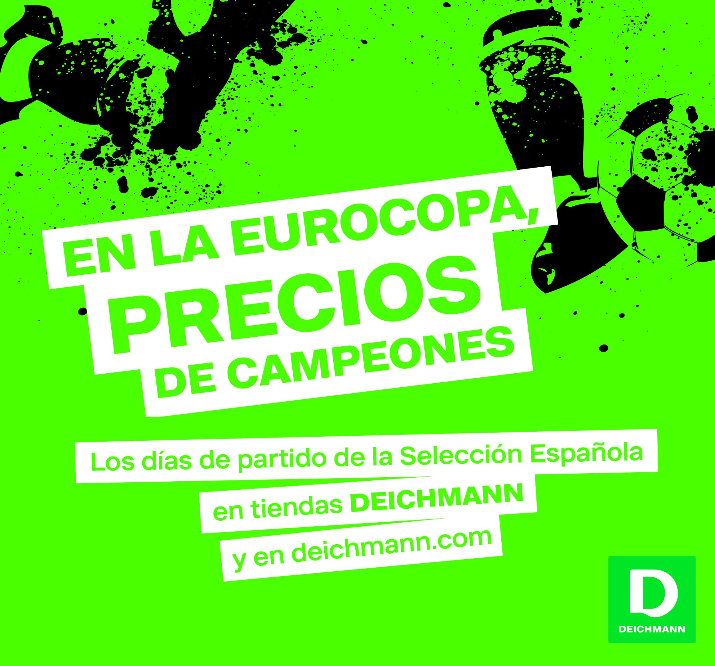 La Eurocopa en Deichmann