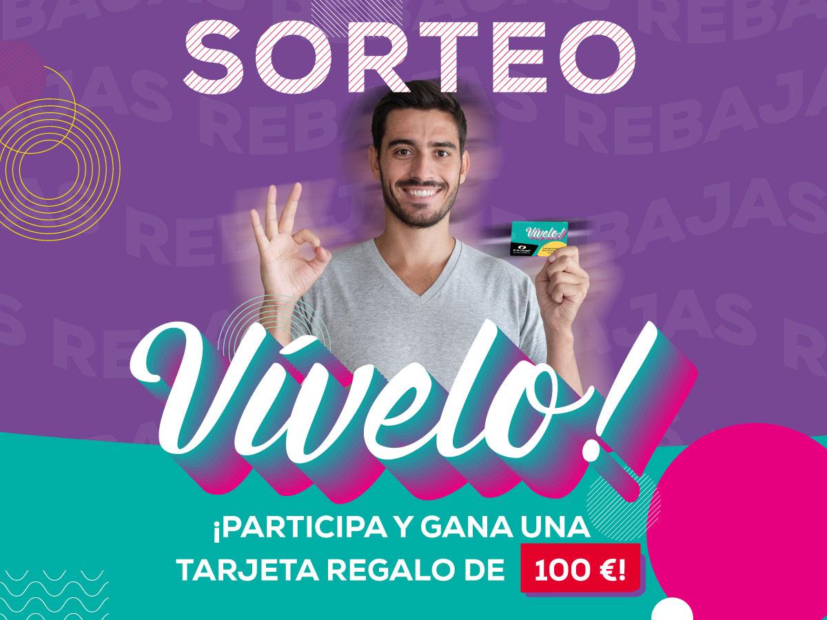 REBAJAS: TARJETA 100€