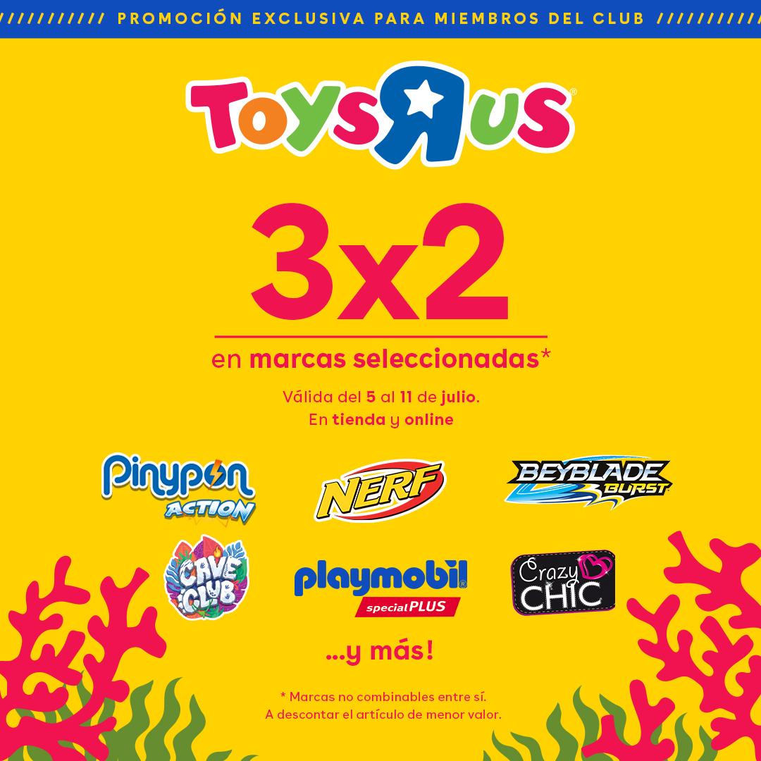 3x2 para todos los miembros - TOYSRUS