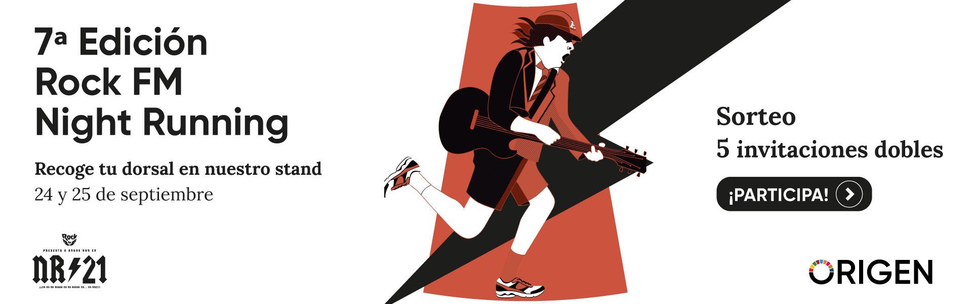 Rock FM Night Running